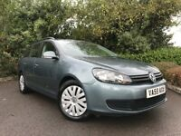 2009 (59) Volkswagen Golf 1.6TDI ( 105ps ) S ESTATE DIESEL 84,000 MILES FULL SERVICE HISTORY
