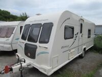 Bailey Olympus 504. 4 Berth End Bathroom 2010