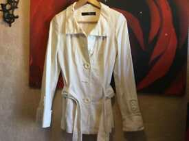 Jane Norman ladies jacket size 8 white used £10