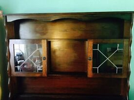 Welsh Dresser/Sideboard for sale! Beautiful storage space and display cabinets.