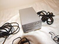 swan dvr4 - alert cctv hard drive recorder 2 cameras