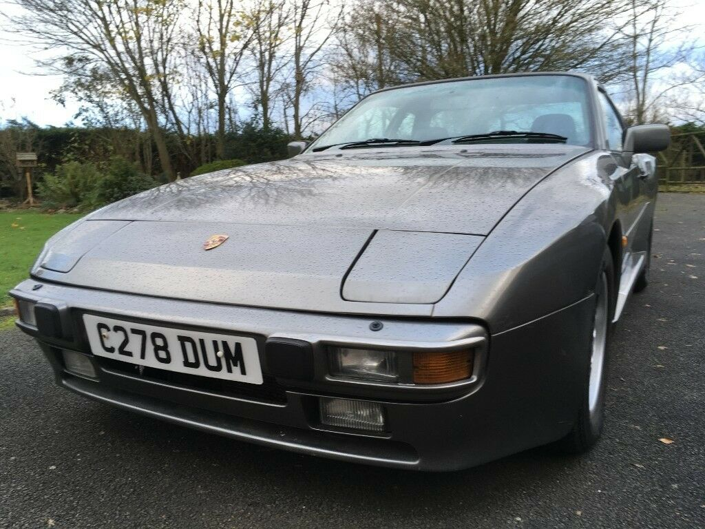 Porsche 944 2 5L 1986 oval dash model Grey with extensive history file | in  Ballinderry Upper, County Antrim | Gumtree