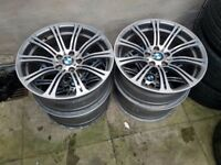 Staggrered Bmw M3 Alloy Wheels 19'' Can Sell Singles Can Post Part Exchange Welcome