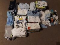 Baby boy clothes bundle 0-3 months 168 items
