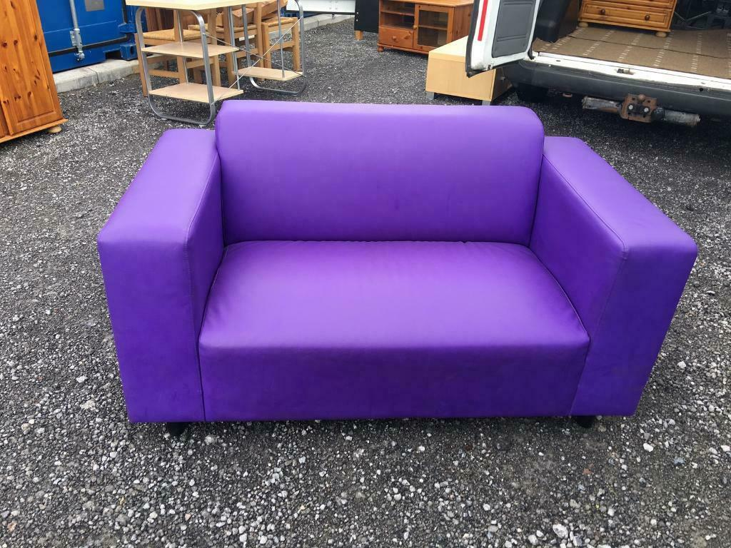 Wondrous Purple Sofa In Newport Gumtree Ibusinesslaw Wood Chair Design Ideas Ibusinesslaworg