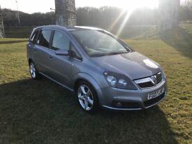 Vauxhall zafira 1.9cdti 150 SRI 7 seater