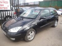 Ford FOCUS Zetec TDCI,1753 cc 3 dr hatchback,FSH,clean tidy car,runs and drives very well,great mpg