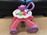 Fisher Price Laugh and Learn Smart Stages Musical Tea Cart Walker