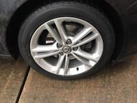 "Vauxhall insignia 18"" Sri Alloys with premium tyres."
