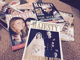 Majesty magazines, vinyl lps and singles Free