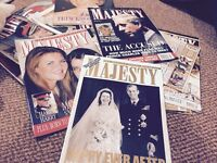 Majesty magazines, vinyl lps and singles Free
