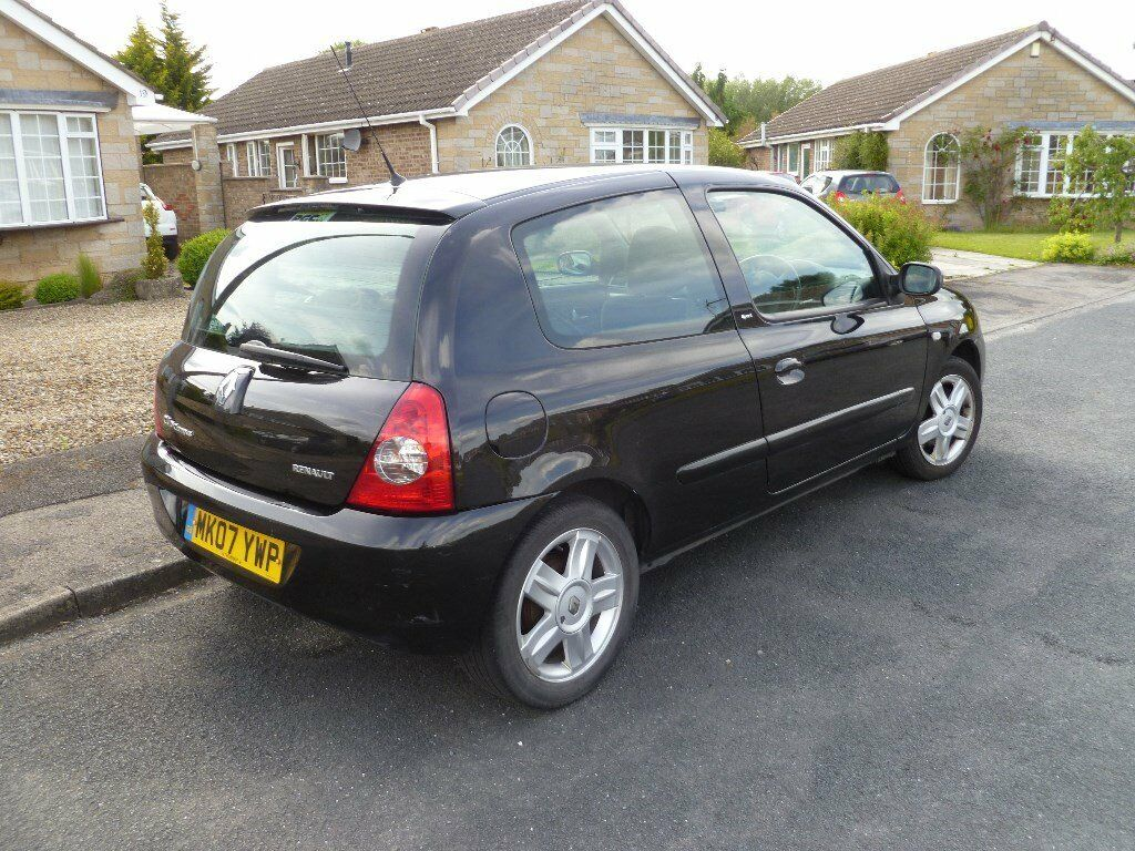 renault clio campus sport black 2007 in haxby north yorkshire gumtree. Black Bedroom Furniture Sets. Home Design Ideas