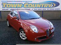 ***2011 Alfa Romeo MiTo SPRINT 16V **FULL SERVICE HISTORY**( mini 500 fiesta polo ibiza a3 corsa )