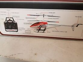 Radio Controlled Helicopter SKY KING GYRO 3.5Ch