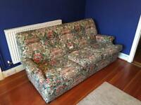 1970's Parker Knoll sofa and 2 chairs ( including recliner)