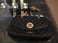 NEW Love Moschino Quilted Shoulder Bag in Black