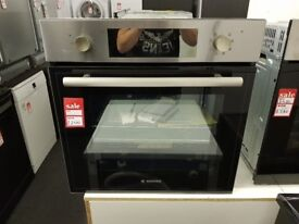 Brand New HOOVER HSO8650X Electric Oven - Stainless Steel
