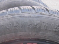X4 Evergreen Winter Tyres for sale.