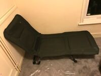 Green fishing chair / bed easy carry