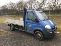 VAUXHALL MOVANO 2.5 DIESEL TRUCK 2007 07REG SPARES/REPAIRS RUNS AND DRIVES BUT SMOKES