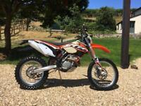 2013 KTM EXC-F 250 only 73 hours
