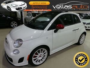 2013 Fiat 500 ABARTH**PANO ROOF**5SPD