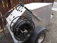 Lombardini Diesel Industrial Towable Pressure Washer Jet Washer