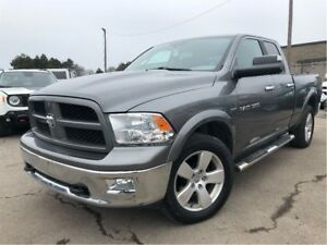 2012 Ram 1500 SLT 4WD 140.5 20 INCH MAGS BUCKETS & CONSOLE
