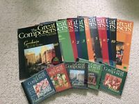 The Great Composers classical magazine collection