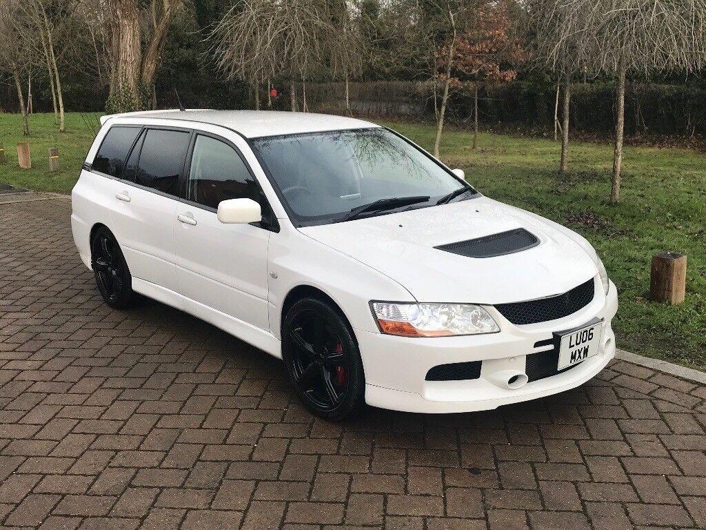 MITSUBISHI EVO 9 IX MR GT, WAGON, AUTO, PEARL WHITE, RARE,