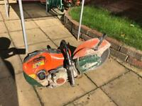 Stihl TS410 saw petrol stone concrete cutter