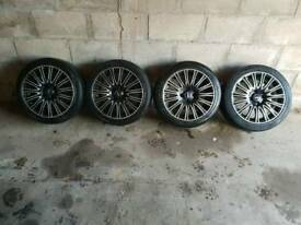205/45/26 Alloy Wheels and tyres