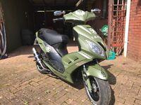 2014 Custom 125cc Scooter