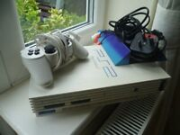 PLAYSTATION 2 PS2 CONSOLE WHITE LARGE CONSOLE * RARE COLLECTORS