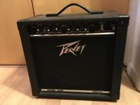 Small Peavey Guitar Amp