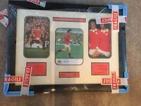 Signed George Best Manchester United Photo Frame (Includes certificate of authenticity)