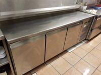 3 DOOR UNDER COUNTER FRIDGE FOR RESTAURANT Commercial Catering Meat Dairy Cafe