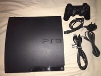 PlayStation 3 500GB Slim (Power Cable, HDMI and Controller)