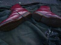 dr martens vintage oxblood size 9 £80