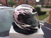 HJC crash helmet size 56cm BNIB