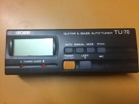 Boss TU-70 Tuner