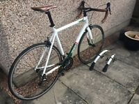 Genesis Volant 10 road bike + Racerblade mudguards. Size 58cm