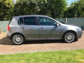 Vw golf gt tdi sport 140bhp