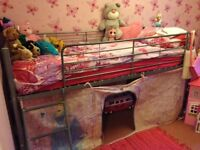 Metal mid sleeper, frame only