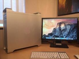 Apple Mac Pro Desktop Pc + Monitor