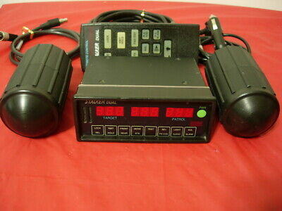 Stalker Dual Two Ka Band Police Radar With Optional Pushbutton Faceplateremote
