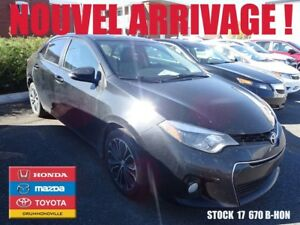 2014 Toyota Corolla S+CAMÉRA+SIEGES CHAUFFANTS+MAG
