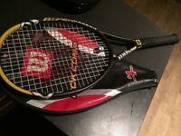 Tennis racket - Wilson hyper carbon - hyper hammer