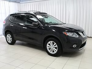 2016 Nissan Rogue SV AWD TECH PACKAGE WITH SUNROOF, NAVIGATIONS