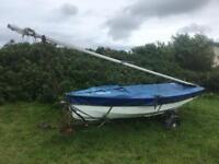 Enterprise Sailing Dinghy Boat